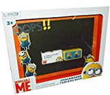 Despicable-ME-Minions-Made-Bundle-2-Items-7-Piece-Set-Despicable-Me-Minions-Made-Chalkboard-Set-In-Open-Box-With-4-Sticks-of-Chalk-1-Eraser-Collectible-Small-Tin-Puzzle-with-Metal-Enclosure