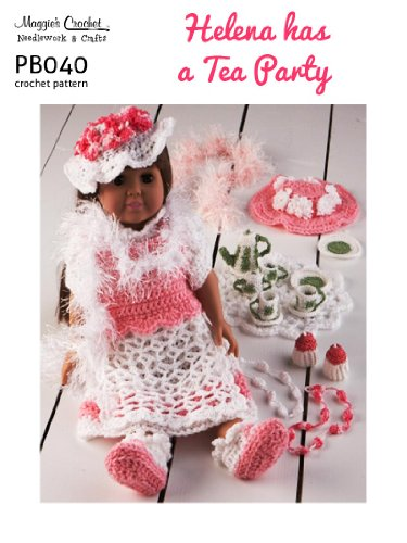 Crochet Pattern Helena Tea Party PB040-R