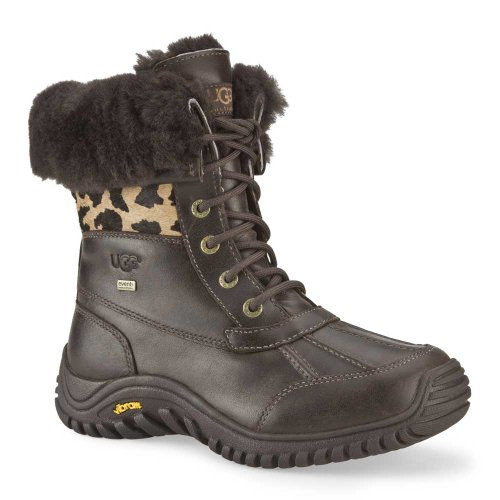 UGG Women&#8217;s Adirondack II Boots &#8211; Cheetah Print