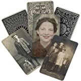 Found Relatives Vintage Portraits by Tim Holtz Idea-ology, 5 x 3 Inches, Pack of 24 Photos, TH93121