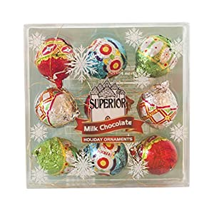 Holiday Milk Chocolate Ornaments Gift (4.5 Oz)
