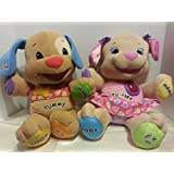 Fisher-Price Laugh & Learn Love To Play Puppy Boy & Girl Set