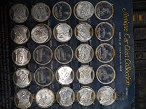 1968 Sunoco Antique Car Coins Series 1