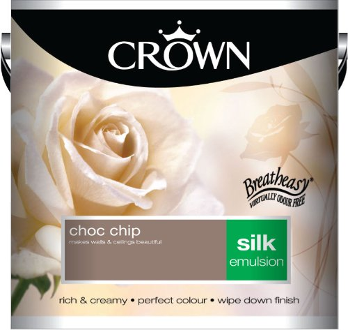 Crown Silk 2.5L Emulsion - Choc Chip
