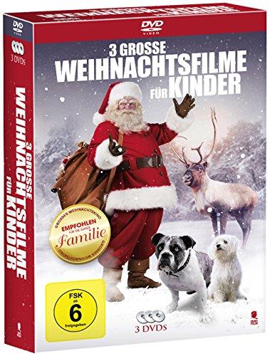 Drei große Weihnachtsfilme für Kinder (3 DVDs)