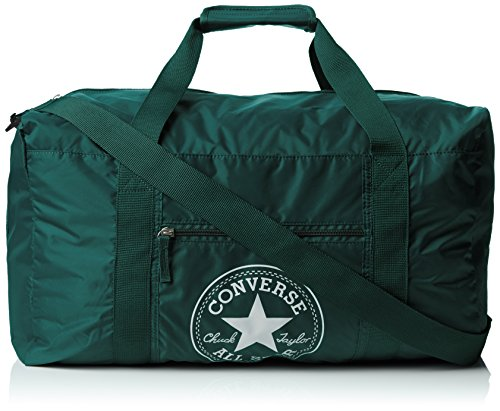 Converse Ct Packable Gym Nylon Borsa, Unisex Adulto, Verde, 49X28X27