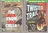 img - for Twisted Trail / The Man from Salt Creek book / textbook / text book