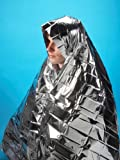 Steroplast Emergency Foil Blanket, First Aid, Pack of Two