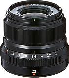 Fujifilm 16523169 Fujinon XF 23mm F2 R WR Objektiv schwarz