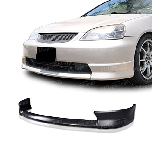 PULIps HDCV01XNFAD - HFP Style Front Bumper Lip For Honda Civic 2001-2003 (Honda Civic 2003 Front Bumper Lip compare prices)