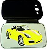PORSCHE BOXSTER - SAMSUNG S3 LEATHERETTE FLIP CASE (CrazyLazy Cars unofficial product) #2