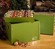Signature Ornament Storage Box – Satin Lined & Padded