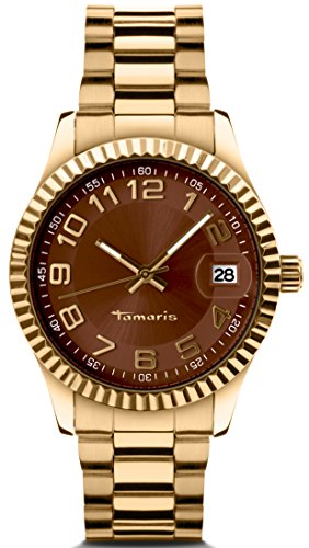 Tamaris - B07101380 - Montre Femme - Quartz - Analogique - Bracelet Acier Inoxydable Doré