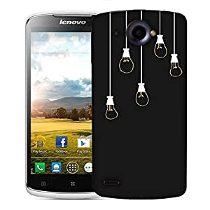 Snoogg Bulbs Designer Protective Phone Back Case Cover For Lenovo S920
