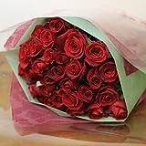 〔エルフルール〕 バラの花束 20本 カラー:レッド