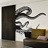 Kraken Octopus Tentacles Wall Decal Ocean Animal Wall Sticker Tentacles Wall Graphic Mural Home Art Decoration