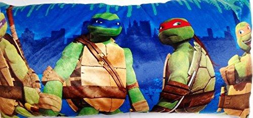 Teenage Mutant Ninja Turtles Body Pillow 18 x 36 Inches (Ninja Body Pillow compare prices)