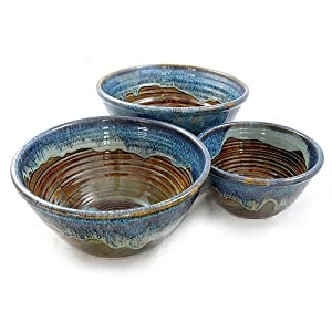 The Cookie Jar Store McCoy Stoneware Nested Mixing Bowl #9
