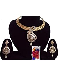 This Beautiful Gold Plated Kundan Necklace Set Of Very Fine Quality