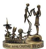 Nightmare Before Christmas -  Jack and Sally Bronze Paperweight- 2nd Series