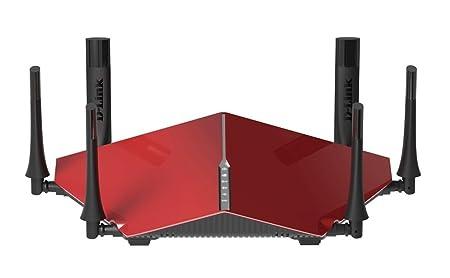 D-Link DIR-890L Routeur Wi-Fi AC3200 Ultra rapide Rouge
