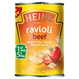 Heinz Ravioli with Beef in Tomato Sauce 6x400g