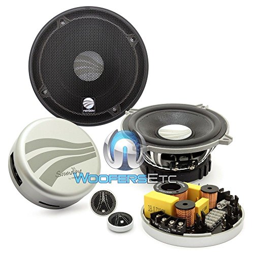 "Slc 230.25 Ng - Rainbow 5.25"" 80W Rms 2-Way Component Speakers System front-635509"