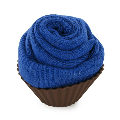 Baby Newborn Royal Blue Cupcake Gift Present Size 0-3