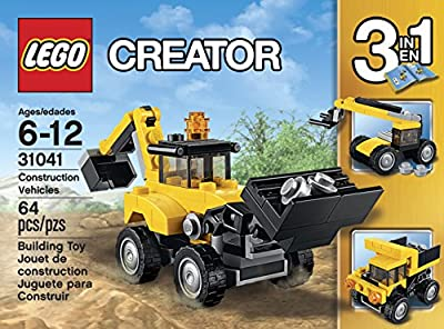 LEGO Creator Construction Vehicles 31041 from LEGO