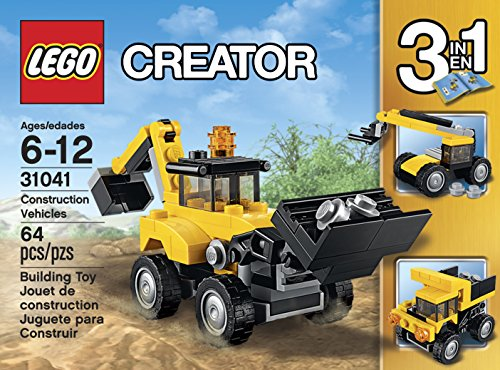 Buy LEGO Creator Construction Vehicles 31041 on Amazon ...