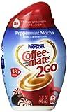 Coffee-mate 2Go Triple Strength Coffee Creamer, Peppermint Mocha, 3 Ounce (Pack of 8)
