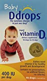 Ddrops Baby 400 Iu 90 Drops (Pack of 3)