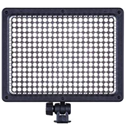 300 LED - on Camera Light with Audio