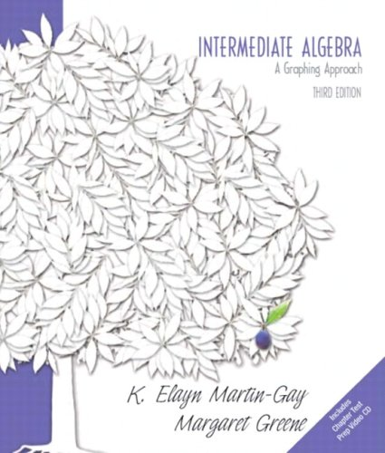 Intermediate Algebra A Graphing Approach Value Pack (includes Chapter Test Prep Video CD)
