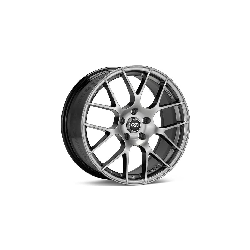 18x8.5 Enkei Raijin (Hyper Silver) Wheels/Rims 5x114.3 (467 885 6535HS)