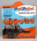 PetPaint Buddy Prints Stencil Kit for Pets, Paw Print/Heart