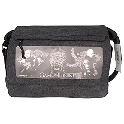GAME OF THRONES Messenger Bag Eddard and Tywin Big Size