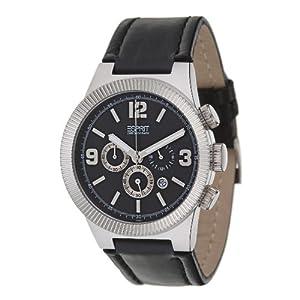 Esprit Herren-Armbanduhr Superkeen Black ES101671003