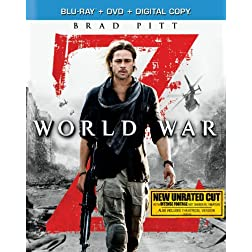 World War Z (Blu-ray + DVD + Digital Copy)