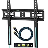 Cheetah Mounts APFMSB Soporte de Pared Fijo y Ultra Delgado para Televisores y Pantallas LED, LCD y Plasma TV de 20-55