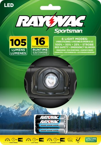 Rayovac Sportsman Xtreme 3W Led K2 Headlight