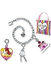 """CHARM IT! """"Fairy Princess"""" 3 Charms & Bracelet Pouch Set"""