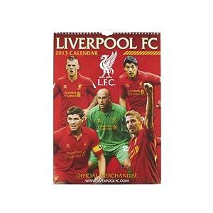 A3 Calendar 2013 by Liverpool FC