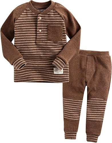 Vaenait Baby Kids Boys High Quality Winter Napped Sleepwear Pajama Set Warm Nap Line