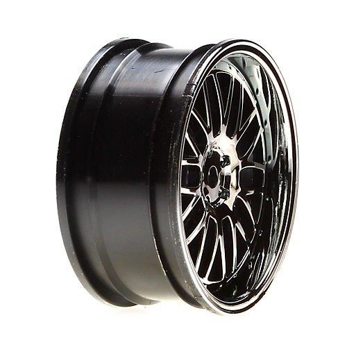 Vaterra 43007 Wheel Fr 54 X 26mm Deep Mesh Blk Chrome (2): V100 - 1