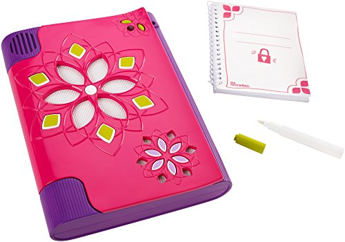 Password Journal - Diario electrónico con pluma de tinta invisible  (Mattel CKT10 )