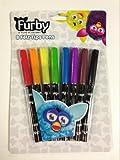 FURBY Stationary Set -8 felt tips pens