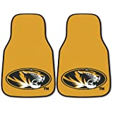 FANMATS NCAA University Of Missouri Tigers Nylon Face Carpet Car Mat