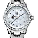 TAG HEUER watch:University of Michigan TAG Heuer Watch - Women's Link with Diamond Bezel at M.LaHart