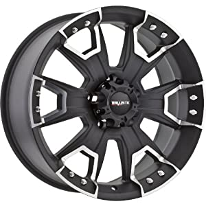 Ballistic Havoc 22×9.5 Black Wheel / Rim 8×170 with a 12mm Offset and a 130.80 Hub Bore. Partnumber 904095867+12FB